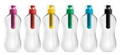 Reusable Water Bottles: Reduces the use of plastics and is easy to refill. Less fossil fuels are burned and less greenhouse gases are released.