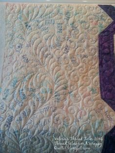 Thread Tales from a Scrappy Quilter: Ovarian Cancer Awareness Quilt