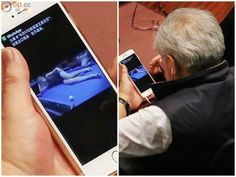 Hong Kong politician watches sexy girls on his iPhone during historic debate:  Hong Kong import and export lawmaker Wong Ting-kwong has embarrassed himself after being snapped viewing sexy pics on his iPhone during an important parliamentary debate. Because, you know, helping decide the entire future of Hong Kong isn't exciting enough! Crazily…  http://dlvr.it/BJHgjQ