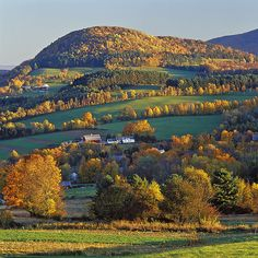 Vermont farm landscape - Ed Post, photographer