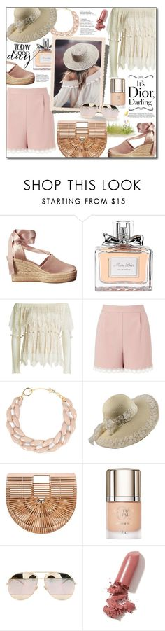 """Ending the summer!😭"" by ela79 ❤ liked on Polyvore featuring Tory Burch, Christian Dior, Alexander McQueen, Miss Selfridge, DIANA BROUSSARD and LAQA & Co."