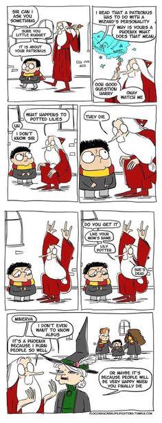 Dumbledore roasting