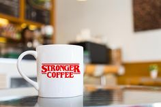 Stranger Things Series  Stronger Coffee