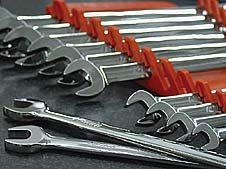 Ernst Tool Organizers - Gripper Wrench Organizer in action.