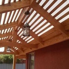 Pergola Canopy, Gazebo, Outdoor Lounge, Outdoor Living, Modern Pergola, Ceiling Beams, Modern House Design, Interior Decorating, Outdoor Structures