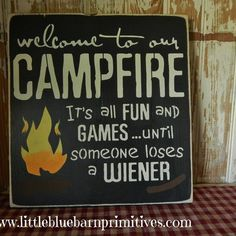 welcome to our firepit - Google Search