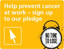 Have you signed up to our pledge yet? Please do and help prevent workplace cancer. Thank you. bit.ly/1w8tuwC