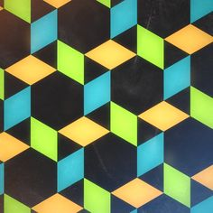 Pattern 2. Made with isometric.