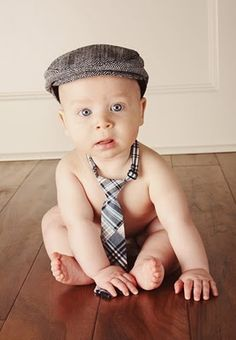 Cute baby boy pose (in an write-up for work, lol)!