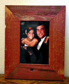 custom barnwood frames frame red 5x7 barnwood 900 http
