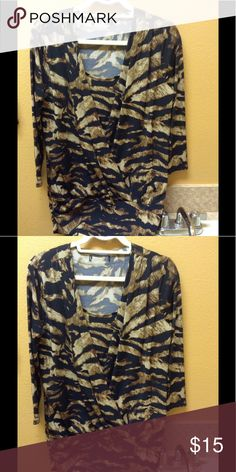 Leopard top Leopard top long sleeve Tops Blouses
