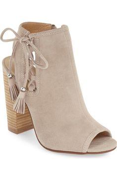 Kristin Cavallari 'Legend' Peep Toe Zip Bootie (Women) available at #Nordstrom