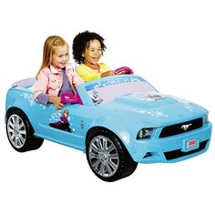"Fisher-Price Disney Frozen Ford Mustang - Power Wheels (Fisher-Price) - Toys ""R"" Us"