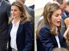 Le Prince Félipe et la Princesse Létizia se sont rendus dans la ville de Tolède pour présider l'ouverture de l'année scolaire 2012/2013 dans l'école Thomas Romojaro. 18/sept/2015