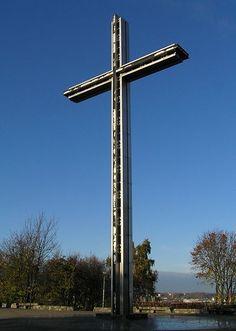 Krzyż na Kamiennej Górze;  #Gdynia #Kamienna Góra