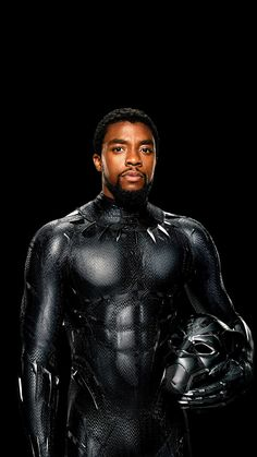 Chadwick Boseman as T'Challa, Black Panther ............. MY OVARIES JUST EXPLODED.