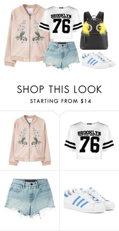 """Game Day"" by acacia97 ❤ liked on Polyvore featuring MANGO, Boohoo, T By Alexander Wang, adidas Originals and Fendi"