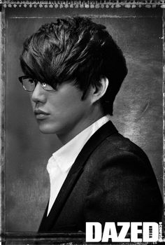 Sung Si Kyung by Kim Joong Man for Dazed and Confused Korea Feb 2012 Sung Si Kyung, Daddy Long, Dazed And Confused, Song Joong Ki, Long Legs, Korean Actors, Gorgeous Men, Kdrama, Singing