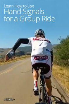 Hand Signals for Group Bike Rides