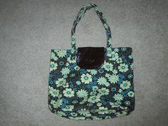 Sharif Flowered Tote Bag Handbag