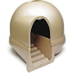 Caisse Litière pour Chat – Booda Dome... sur www.shopwiki.fr ! #litiere #accessoires_animaux #animaux