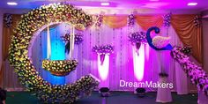 "Naming Ceremony Decoration or Cradle Ceremony Decoration planners, organizers, and decorators in Pune. Naming Ceremony is also known as ""Cradle"" and in Marathi ""Barse"" or ""Namkaran Sohala"".Sukanya Events have tremendous naming ceremony decorations. Naming Ceremony Decoration, Wedding Stage Decorations, Baby Shower Decorations, Flower Decorations, Marriage Decoration, Cradle Decoration, Naming Ceremony Invitation, Indian Baby Showers, Cradle Ceremony"