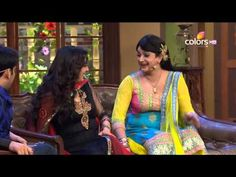 Juhi Chawla on the sets of Comedy Nights with Kapil