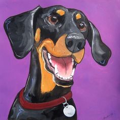 Doberman. Totally going to copy this and change the colors so it looks like my red Doberman Patton.