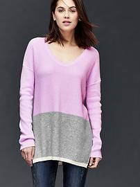 Brooklyn colorblock pullover sweater
