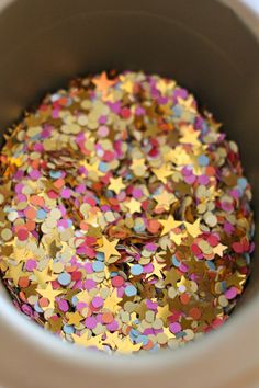 Confetti makes everything more fun [Especially opening invites and cards!]