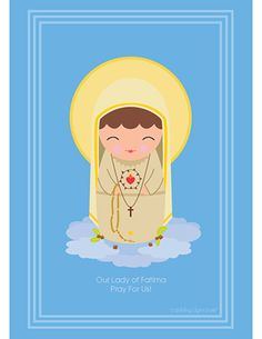 Mary: Our Lady of Fatima by Shining Light Dolls
