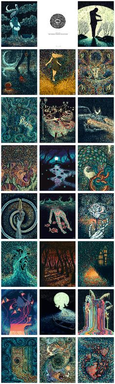 The Visions Project: Tarot Cards & Art Prints by James R. Eads — Kickstarter