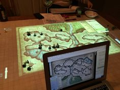 """Dungeons and Dragons comes to life on digital maps"" Add this to the Future Dream Home list."