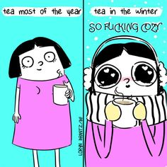 Beverages… | 23 Comics That Feel Your Winter Struggle