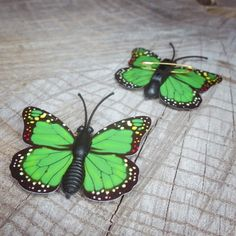 Add some colour with this Butterfly Safety Pin  #craft365.com