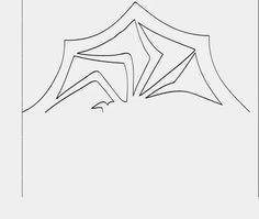 DIY Nightmare Before Christmas spider snowflake template.
