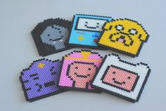Adventure Time Coaster Set by popthatcassette on Etsy, $30.00