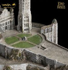 Minas Tirith - The Lord of the Rings environment