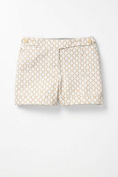 Madison shorts at Anthropologie. Could make some like these out of 70s poly men's slacks