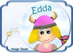 Button Wikingerin von Jasuki auf DaWanda.com