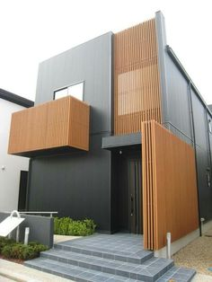 62 Modern House Design Exterior and Interior - Home Decorations Trend 2019 Modern Architecture House, Residential Architecture, Modern House Design, Interior Architecture, Facade Design, Exterior Design, Facade House, Building A House, Villa
