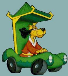 Hong Kong Phooey, was my favorite cartoon EVER. It was my lunchbox in first grade!
