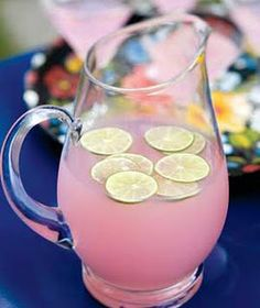 Pink lemonade - yum @Gabby Meriles Miller  it's so pretty!