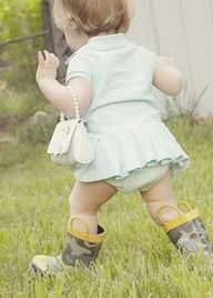 Stuff for Babies -- the freedom to play dress-up and wear what they choose (around the house LOL)