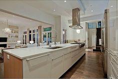 modern open kitchen