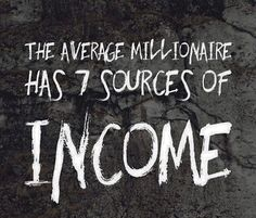 7 sources of income millionaire dating