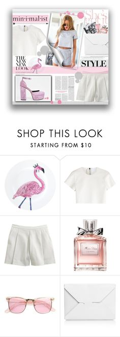 """Minimalist style"" by mariamharrasova ❤ liked on Polyvore featuring Neil Barrett, J.Crew, Christian Dior, J.W. Anderson and ASOS"