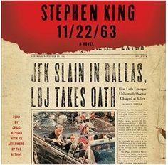 Stephen King's 11/22/63 on Hulu - http://www.jamierubin.net/2016/01/14/stephen-kings-112263-on-hulu/