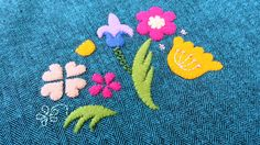 Appliqué / embroidery design by Emy and Wilma.