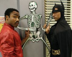 Haha!  If you don't know who these guys are start watching Community!  Funny, funny show!!